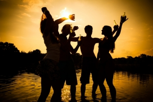 Strände für Jugend und Unterhaltung