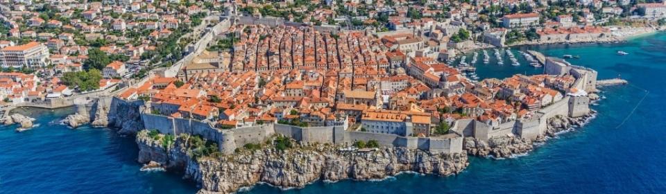 Dubrovnik - die Schöne und Wehrhafte im Süden Dalmatiens
