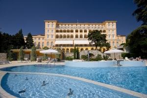Das Grand Hotel Kvarner Palace in Crikvenica öffnete seine Pforten bereits 1896