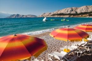 Strand Vela Plaza - Baska - Insel Krk