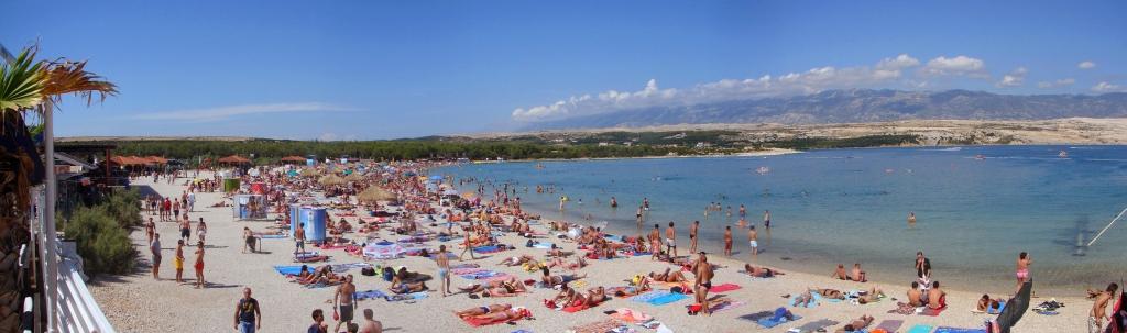 Best Beach In Croatia Non Island